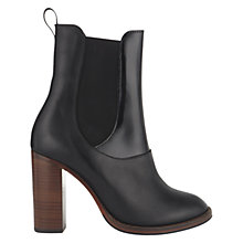 Buy Whistles Erica Leather Chelsea High Heel Boots Online at johnlewis.com