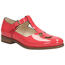 Buy Clarks Orla Kiely Bobbie T-Bar Leather Shoes Online at johnlewis.com