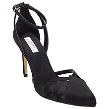 Buy COLLECTION by John Lewis Bellini Satin Court Shoes, Black Online at johnlewis.com