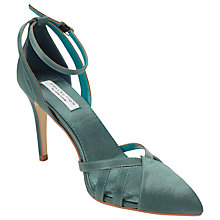 Buy COLLECTION by John Lewis Bellini Stiletto Heeled Courts, Green Online at johnlewis.com