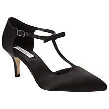 Buy COLLECTION by John Lewis Daiquiri T-Bar Court Shoes, Silver Online at johnlewis.com