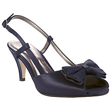 Buy John Lewis Marguerita Sandals, Navy Online at johnlewis.com