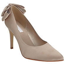 Buy COLLECTION by John Lewis Martini Satin Occasion Court Heels, Champagne Online at johnlewis.com