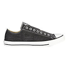 Buy Converse Chuck Taylor All Star Ox Slip On Canvas Trainers Online at johnlewis.com
