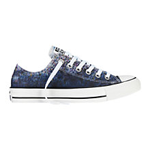 Buy Converse Ox Canvas Low-Top Trainers, White/Multi Online at johnlewis.com