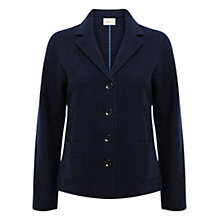 Buy East Felted Wool Blazer, Ink Online at johnlewis.com