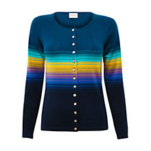 Buy East Graduated Stripe Cardigan, Kingfisher Online at johnlewis.com