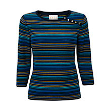 Buy East Mini Stripe Jumper, Ink Online at johnlewis.com