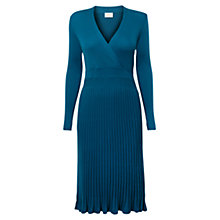 Buy East Pleated Wool Dress, Kingfisher Online at johnlewis.com