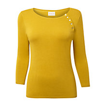 Buy East Button Detail Jumper Online at johnlewis.com