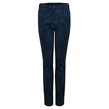 Buy East Jacquard Jeans, Ink Online at johnlewis.com
