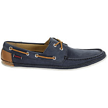 Buy Sebago Ryde Nubuck Leather Moccasin Shoes Online at johnlewis.com