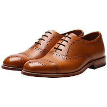Buy Grenson Matthew Leather Oxford Shoes, Tan Online at johnlewis.com