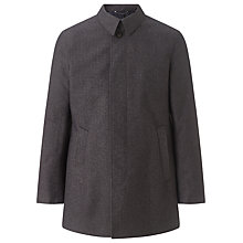 Buy John Lewis Bonded Melange City Mac, Grey Melange Online at johnlewis.com