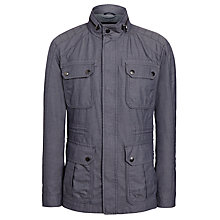 Buy BOSS Cavid Water Repellent Cotton Jacket, Dark Blue Online at johnlewis.com