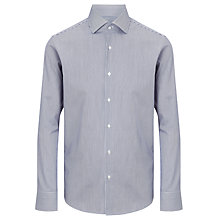 Buy BOSS Gerald Bengal Stripe Shirt, Navy/White Online at johnlewis.com
