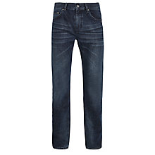 Buy BOSS Maine Regular Fit Jeans, Grey Online at johnlewis.com