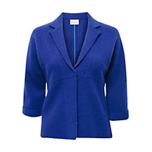 Buy East Boiled Wool Swing Jacket, Iris Online at johnlewis.com