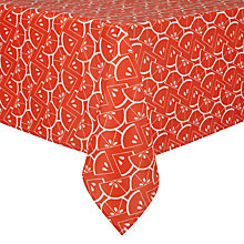 Buy John Lewis Citrus Wipeclean Tablecloth Online at johnlewis.com