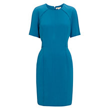 Buy Whistles Cooper Crepe Dress, Blue Online at johnlewis.com