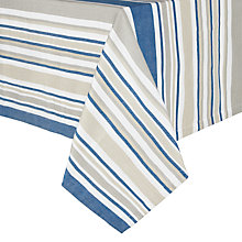 Buy John Lewis Nordic Stripe Tablecloth Online at johnlewis.com