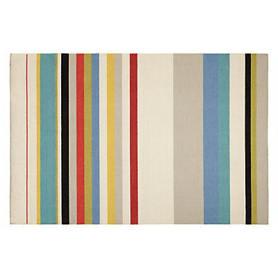 John Lewis Beats Stripe Rug, Multi
