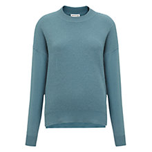 Buy Whistles Bea Cashmere Mix Zip Knit Jumper Online at johnlewis.com