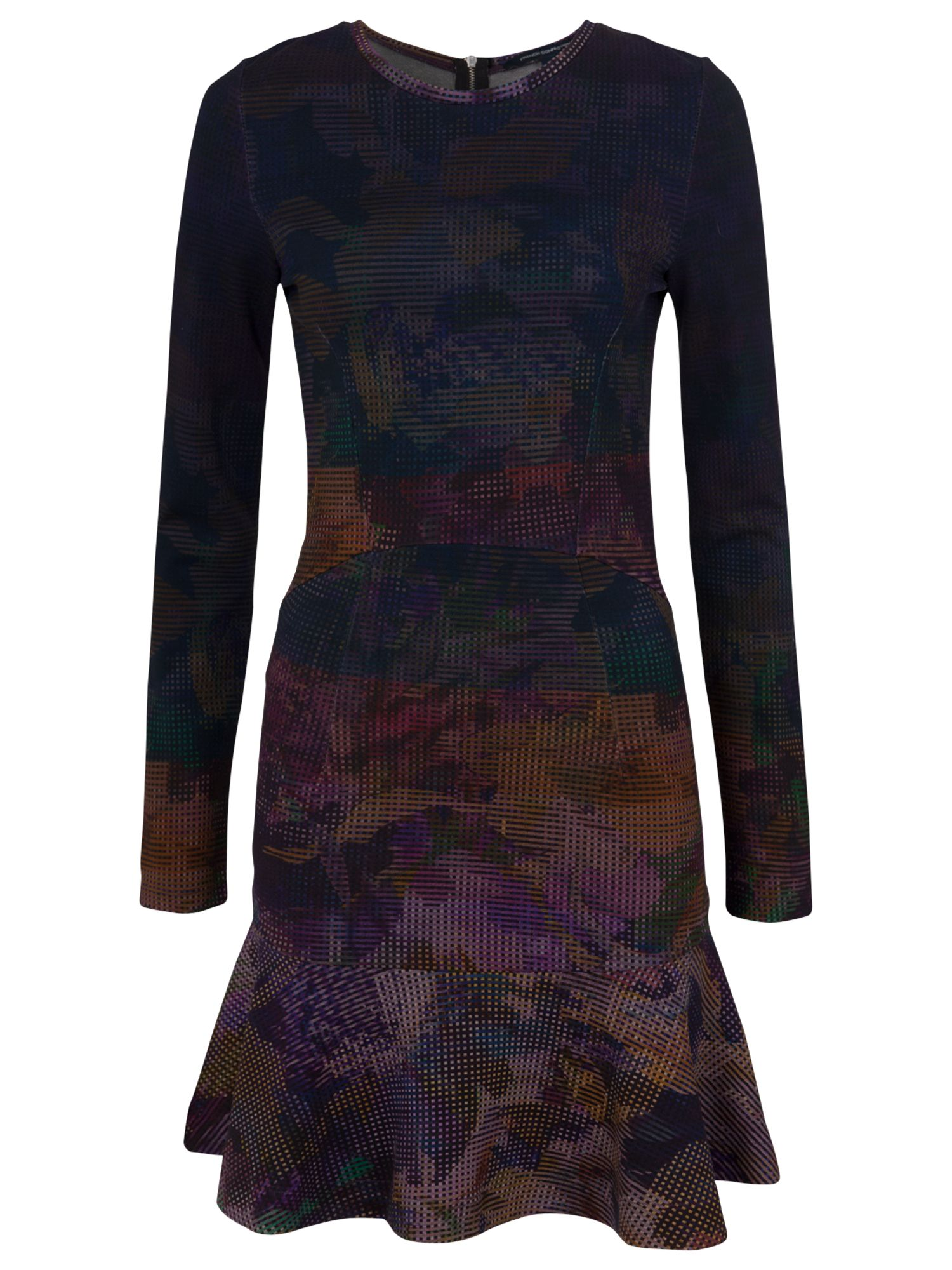 french connection ombre orchard dress dark multi, french, connection, ombre, orchard, dress, dark, multi, french connection, 16|12|10|14|6, clearance, womenswear offers, womens dresses offers, women, inactive womenswear, new reductions, womens dresses, special offers, 1667693