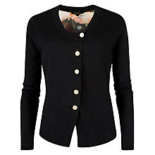 Buy Ted Baker Opulent Bloom Cardigan, Black Online at johnlewis.com