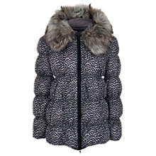 Buy French Connection Wildcat Puffa Coat, Grey Otter Online at johnlewis.com