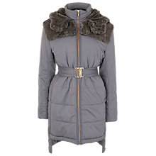 Buy French Connection Juliette Jacket, Grey Otter Online at johnlewis.com