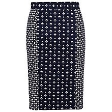 Buy French Connection Modern Skirt, Utility Blue/Multi Online at johnlewis.com