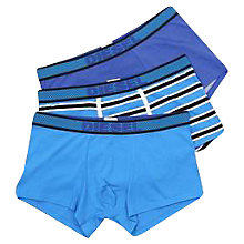 Buy Diesel Shawn Stretch Cotton Trunks, Pack of 3 Online at johnlewis.com