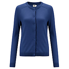 Buy Kin by John Lewis Cotton Cardigan, Limoges Online at johnlewis.com