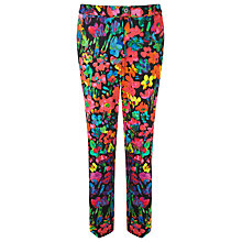 Buy COLLECTION by John Lewis Camille Cotton Trousers, Multi Online at johnlewis.com