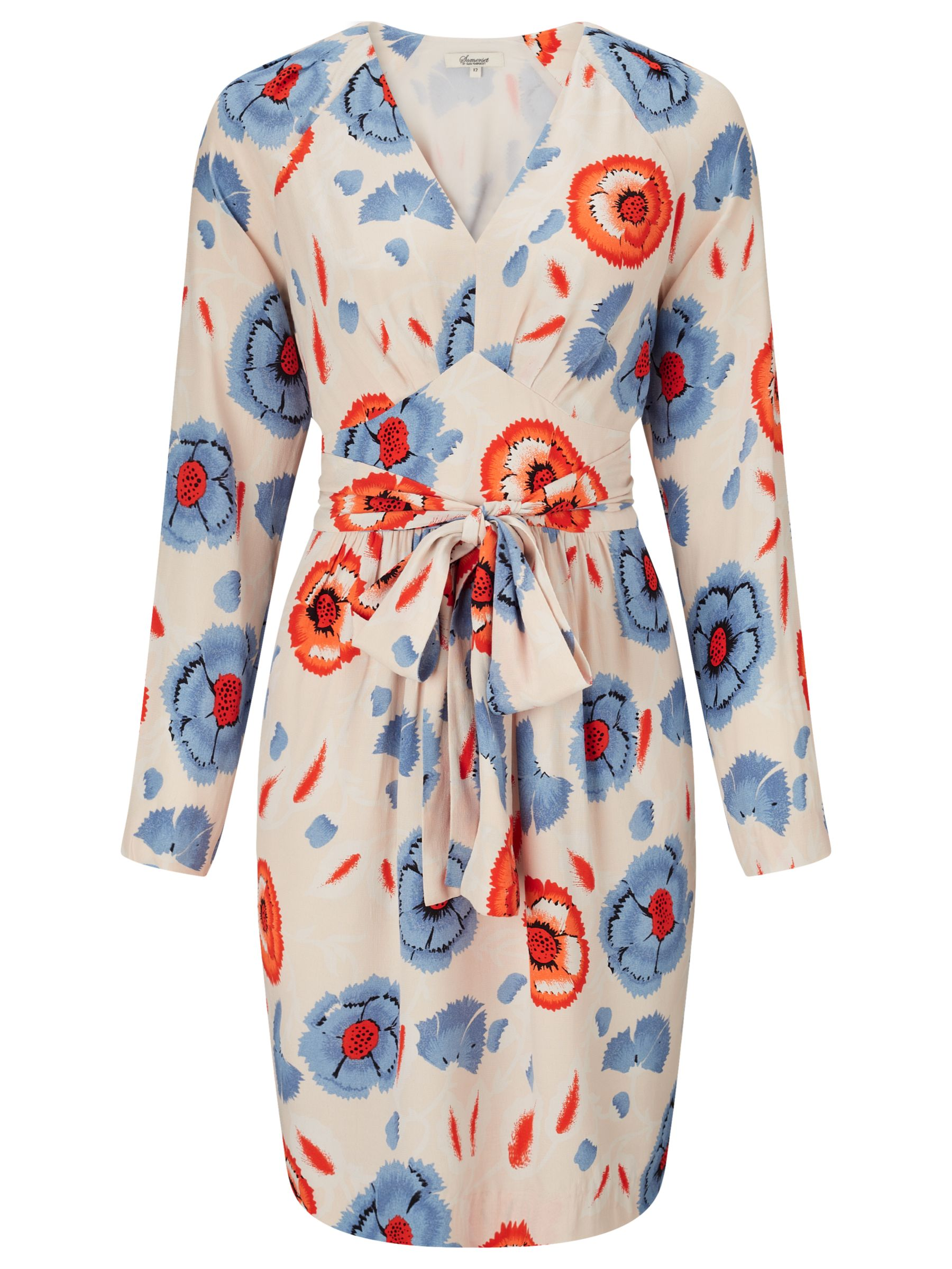 somerset by alice temperley floral print dress multi, somerset, alice, temperley, floral, print, dress, multi, somerset by alice temperley, 6|18|16|8|14|10|12, fashion magazine, the edit a seventies spring, women, womens dresses, gifts, wedding, wedding clothing, female guests, inactive womenswear, outfit ideas, brands l-z, 1785316