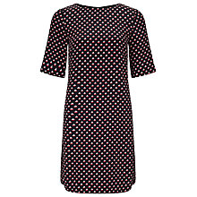 Buy Somerset by Alice Temperley Boat Print Dress, Black Online at johnlewis.com