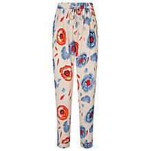 Buy Somerset by Alice Temperley Floral Print Trousers, Multi Online at johnlewis.com