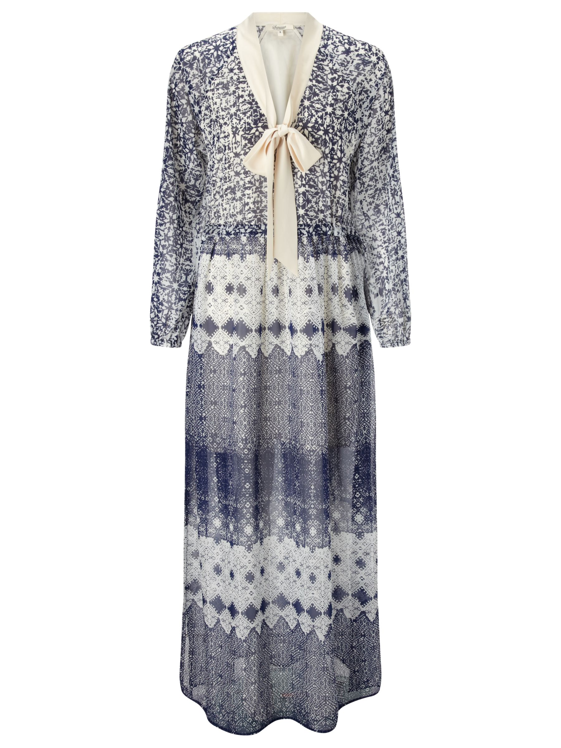 somerset by alice temperley tie waist tile maxi dress blue, somerset, alice, temperley, tie, waist, tile, maxi, dress, blue, somerset by alice temperley, 18|12|10|16|14|8|6, fashion magazine, the edit a seventies spring, women, womens dresses, brands l-z, 1819489