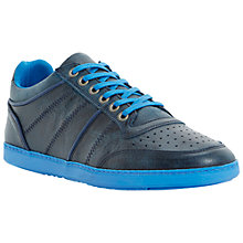 Buy Dune Trapper Leather Lace-Up Trainers Online at johnlewis.com