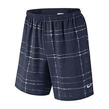 Buy Nike Pursuit 18cm 2-in-1 Running Shorts, Obsidian/Reflective Online at johnlewis.com