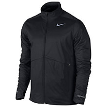 Buy Nike Element Shield Full-Zip Running Jacket, Black Online at johnlewis.com