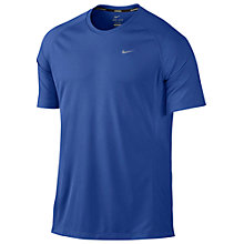 Buy The Nike Miler UV Running Shirt, Game Royal Online at johnlewis.com