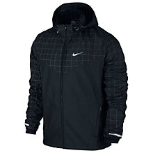Buy Nike Flicker Vapor Jacket, Black/Reflective Silver Online at johnlewis.com