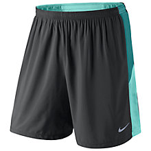 "Buy Nike Pursuit 7"" Pursuit 2-in-1 Running Shorts, Dark Ash/Catalina Online at johnlewis.com"