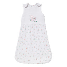 Buy John Lewis Baby's Floral Bird Sleeping Bag, 2 Tog, White/Multi Online at johnlewis.com