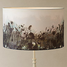 Buy John Lewis Croft Collection Wilderness Lampshade, Grey Online at johnlewis.com