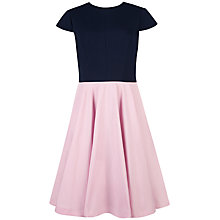 Buy Ted Baker Full Skirt Dress, Baby Pink Online at johnlewis.com