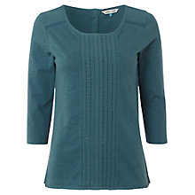 Buy White Stuff Millie Jersey Top, Privet Green Online at johnlewis.com