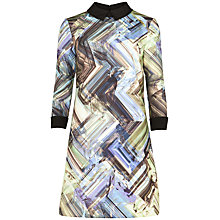 Buy Ted Baker Parquet Geo Jersey Dress, Multi Online at johnlewis.com